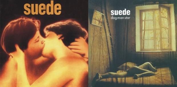 Prepoznatljiva dizajnerska rješenja prva dva albuma Suedea