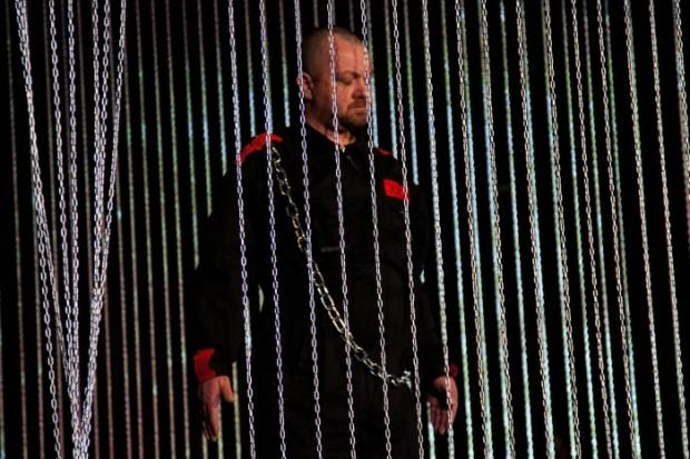 Franko Bušić kao Holofern u predstavi 'Judita', u izvedbi Fractal Falus Teatra i pod redateljskom palicom Hrvoja Cokarića