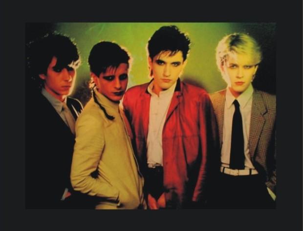 Dostojno za kraj: Japan, londonski art-rock bend kojega su zlobnici nazivali 'Bauhaus na heroinu'.