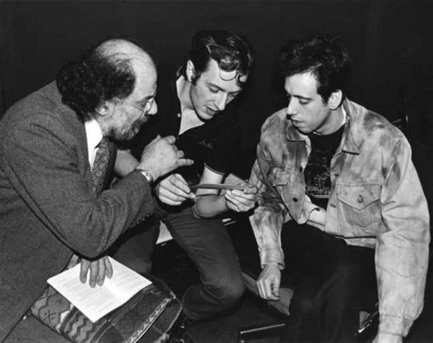 Allen Ginsberg, Mick Jones i Joe Strummer