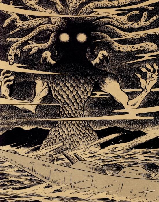 Nisu li uzročnici tih jezivih zvukova možda nepoznate životne forme iz vansjkog svemira, poput Cthulhua, Yog-Sothotha ili Nyarlathotepa, strašnih 'bogova' iz Lovecraftovog legendarija?