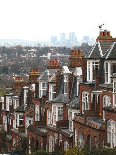 Muswell Hill, pogled ka jugoistoku (Canary Wharf)