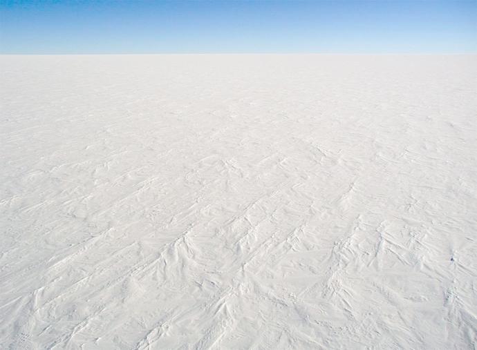 Središnja visoravan Antarktike: beskrajna bjelina!