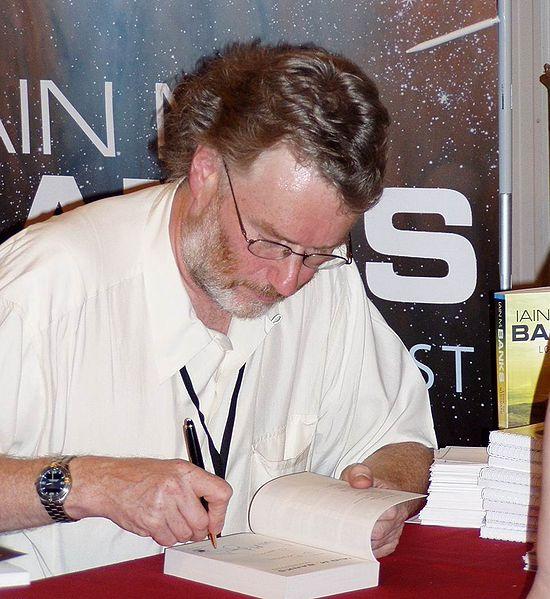 Iain Banks na 63. svjetskoj SF konvenciji, Glasgow 2005.