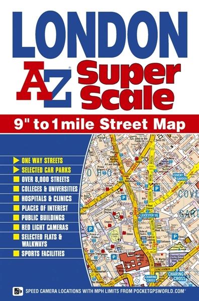 Britanska popularna AZ izdanja su glazbenoj mapi studija Dorothy 'posudile' standardizaciju boja, oznaka i fontova