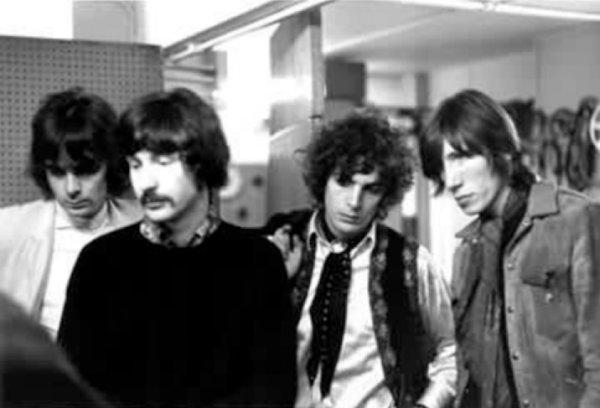 Članovi sastava Pink Floyd u posjetu BBC-ovom Workshopu, 1967. (Foto: BBC)
