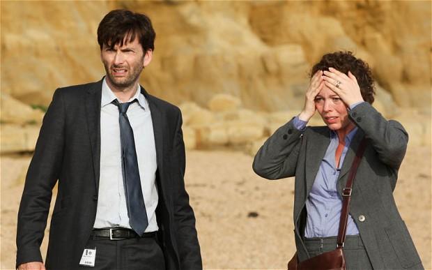 David Tennant i Olivia Colman kao istražiteljski par Hardy i Miller; ključni likovi serijala.