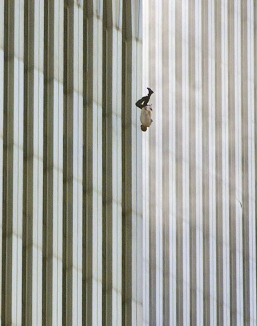 Falling 9-11 victim