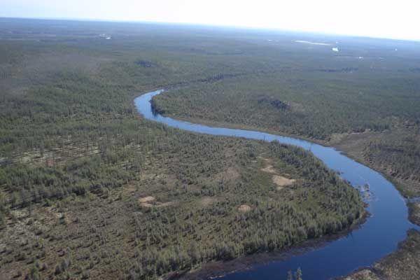 Rijeka Viljuj vijuga kroz jakutsku tajgu u duljini od skoro dvije tisuće kilometara!