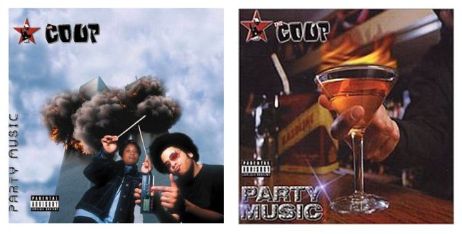 Party Music Album The Coup-before-after