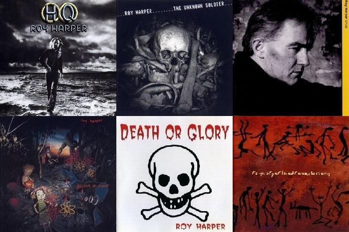 Neki od ključnih albuma Roy Harpera: GQ, The Unknown Soldier, Once, Garden of Uranium, Death or Glory, te DReam Society