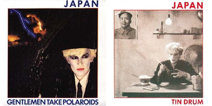 Dva posljednja, u kretivnom smislu najbolja albuma Japana - 'Gentlemen, Take Polaroids' i 'Tin Drum'