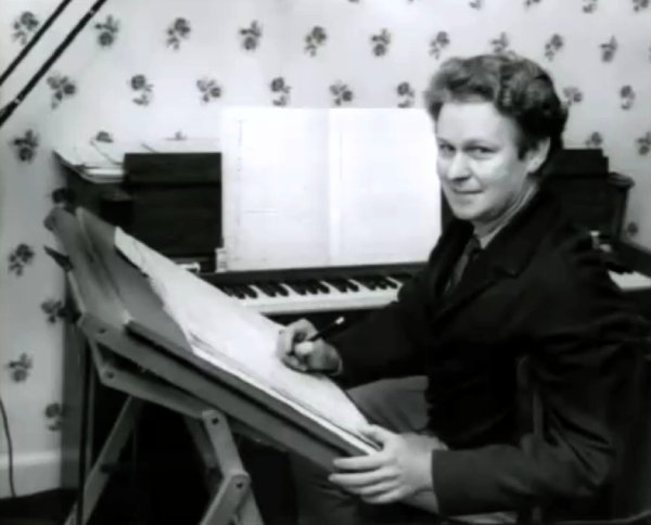 Ron Grainer, composer of the 'Doctor Who' theme tune.