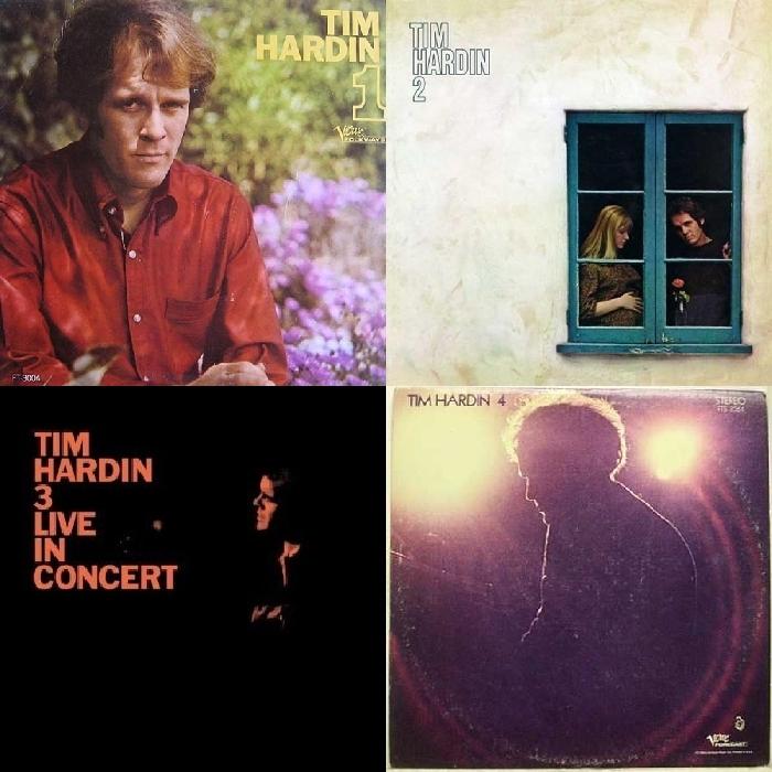 Prva četiri albuma Tima Hardina
