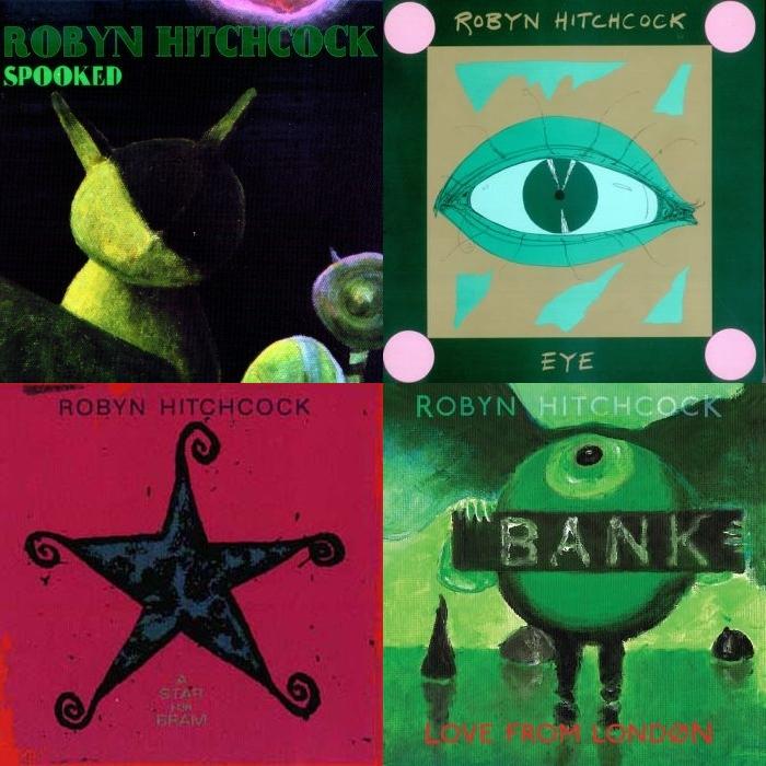 Neki od Robynovih vrhunskih albima: Spooked, Eye, Star for Bram i zasad posljednji, Love from London