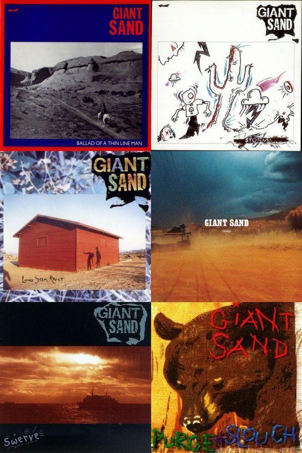 GiantSand_albums