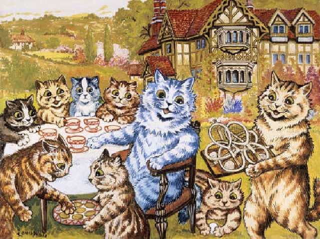 A-Teaparty-at-Napsbury-by-Louis-Wain_imagelarge