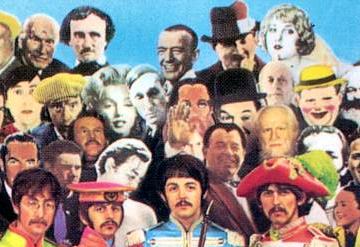 William S. Buroughs na naslovnici albuma 'Sgt. Peppers...' Beatlesa - Desno od Marilyn!