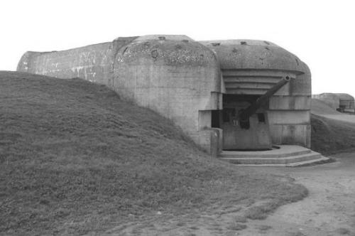 Jedan od otužnih ostataka Hitlerovog 'Atlantskog zida' na plaži Utah, Normandija