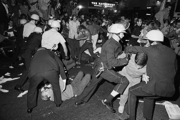 1968 Dems Convention PD crackdown on protests