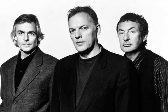 Wright, Gilmour i Mason u vrijeme rada na albumu 'The Division Bell' (1994.)