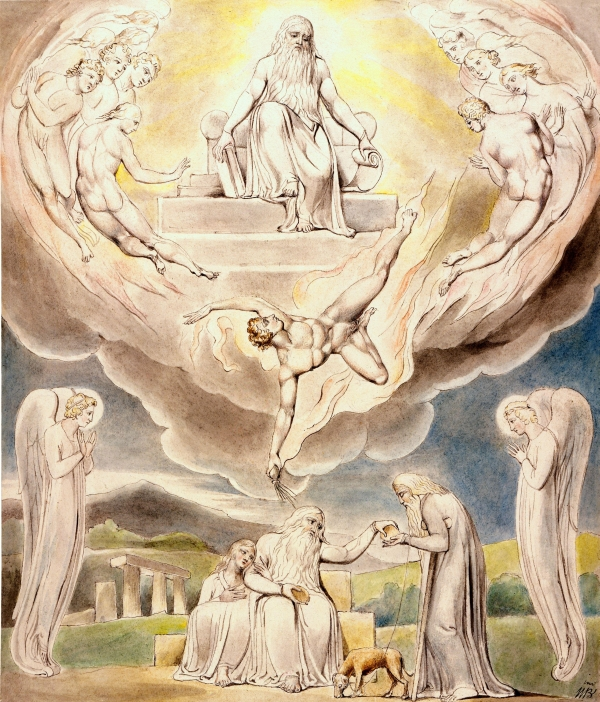 William_Blake_-_Satan_Going_Forth_from_the_Presence_of_the_Lord
