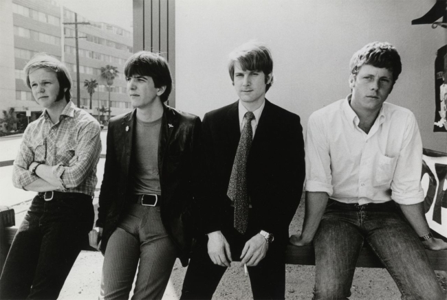 The Byrds u vrijeme rada na albumu 'Sweetheart of the Rodeo': Kevin Kelley, Gram Parsons, Roger McGuinn i Chris Hillman