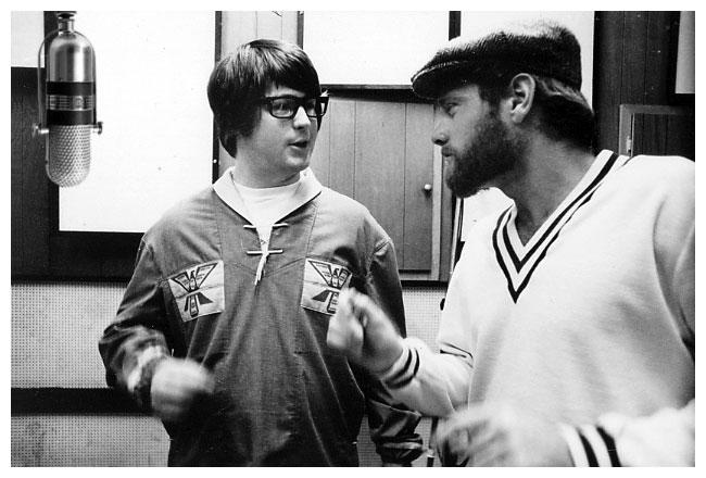 Brian Wilson i Mike Love, 1966.
