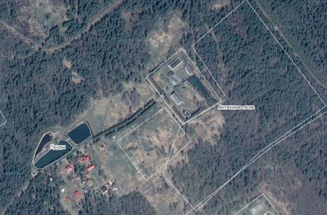 "Lokacija ruske brojevne postaje ""Buzzer"", nedaleko estonske granice"