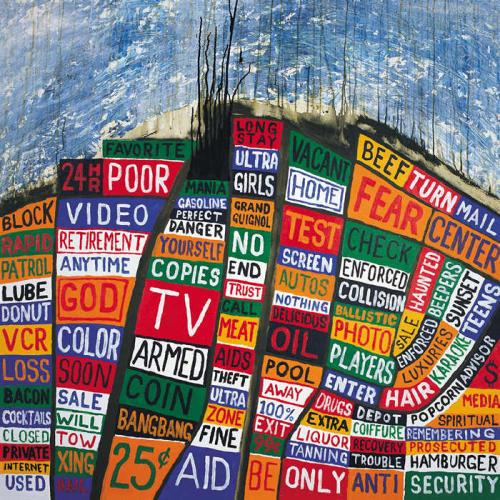 Kolažirani natpisi sa naslovnice albuma 'Hail to the Thief' Radioheada su još jedan primjer homagea Ballardu od strane Thoma Yorkea i Stanleya Donwooda – potonji ih je 'skupio' obilazeći šire područje Los Angelesa!