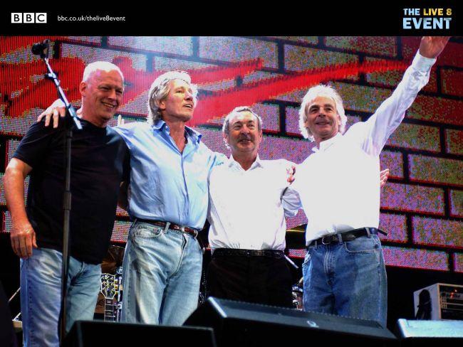 Pink Floyd, Live8, 2. srpnja 2005., Hyde Park