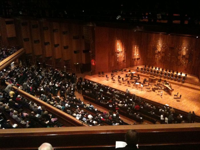 Main Hall, Barbican Centre, London