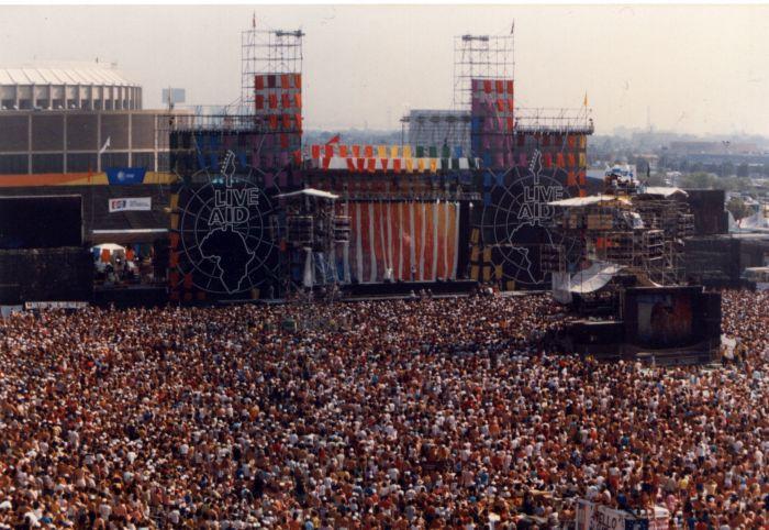 Live Aid, Philadelphia, J.F.K. Stadium