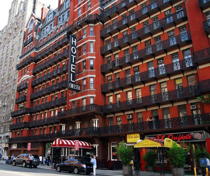 "Pročelje hotela ""Chelsea"", 222 West 23rd Street (između Sedme i Osme avenije)"
