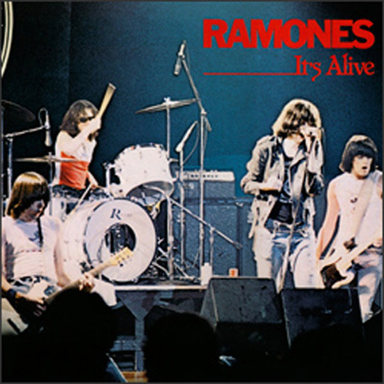 edcf5c789c RAMONES / It's Alive – KLFM KLFM